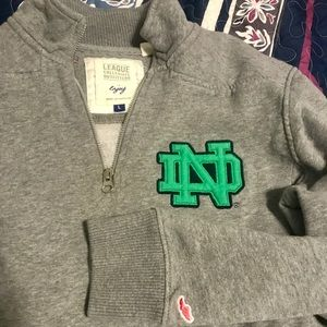 University of Notre Dame Quarter Zip